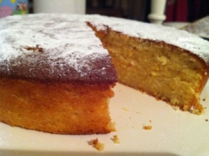 Dense Orange and Almond Cake