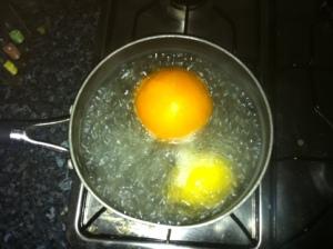 Boiling Fruit