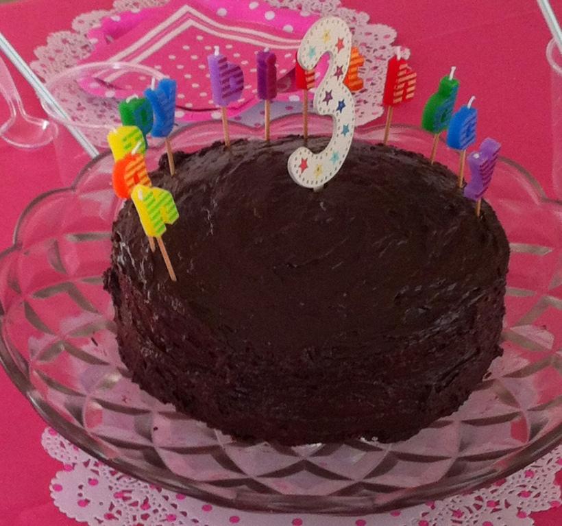 Mum's Magic Chocolate Cake