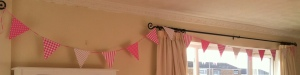 Pretty Pink Bunting