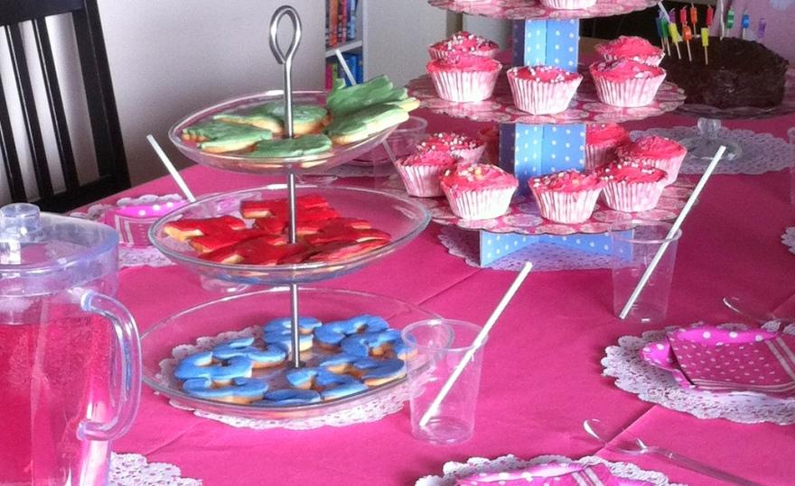 Teddy Bear Tea Party Table