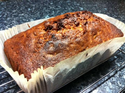 Orange Cranberry Nut Loaf