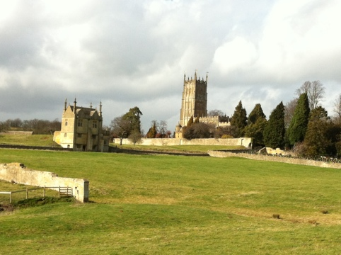 Walking to Chipping Campden