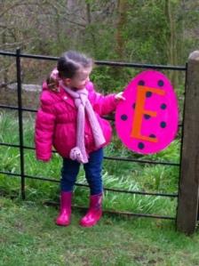 Egg Hunt at Chirk Castle