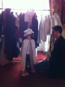 Costumes at Chatsworth