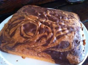 Magic Marble Cake
