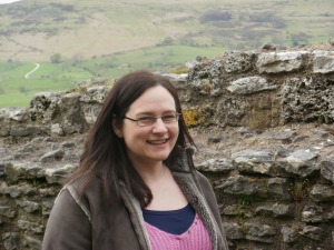 Me at Peveril Castle