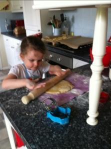 Making Zesty Lemon Biscuits