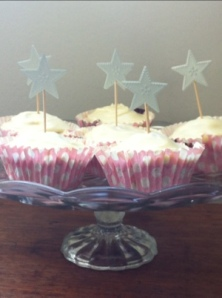 Cranberry & Maple Celebratory Cupcakes