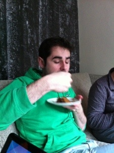 Speckled Mocha Cake