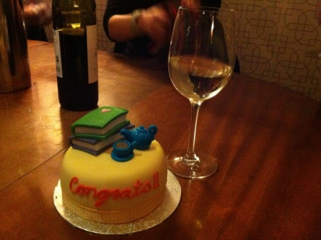 Celebratory Book Cake
