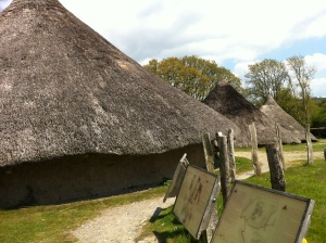 Iron Age Roundhouses at Castell Henllys, Wales