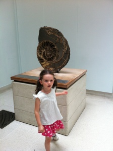 The Daughter with an Ammonite