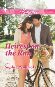 Heiress on the Run US Cover
