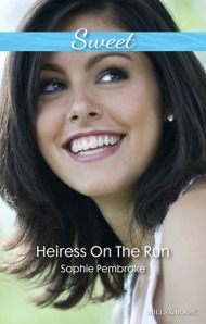 Heiress on the Run - Australian Cover
