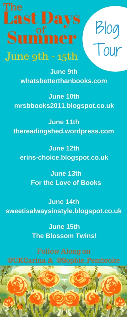 Last Days - Blog Tour